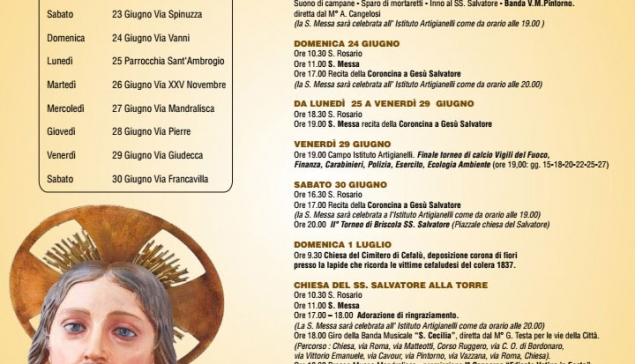 Programma Salvatorello 2018