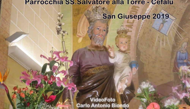 San Giuseppe 2019 video e foto